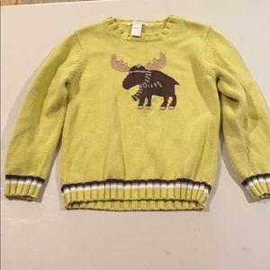 Janie and jack size 5 sweater💯 cotton EUC